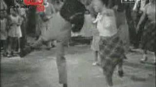 baile del rock and roll americano