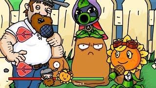 Friday Night Funkin' - Plants vs Zombies Crazy Dave vs Sunflower [FNF MODS]