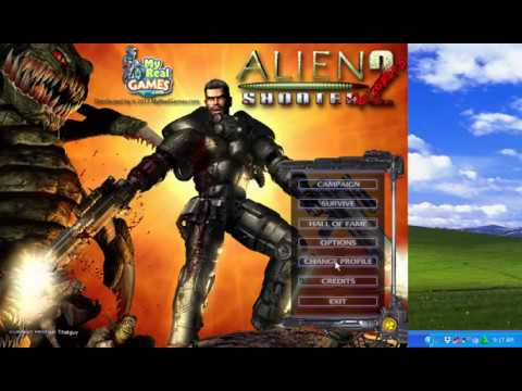 alien shooter 2 free download my real games