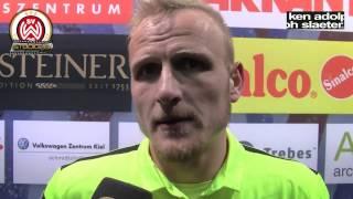 Alf Mintzel nach dem Spiel Holstein Kiel vs. SVWW