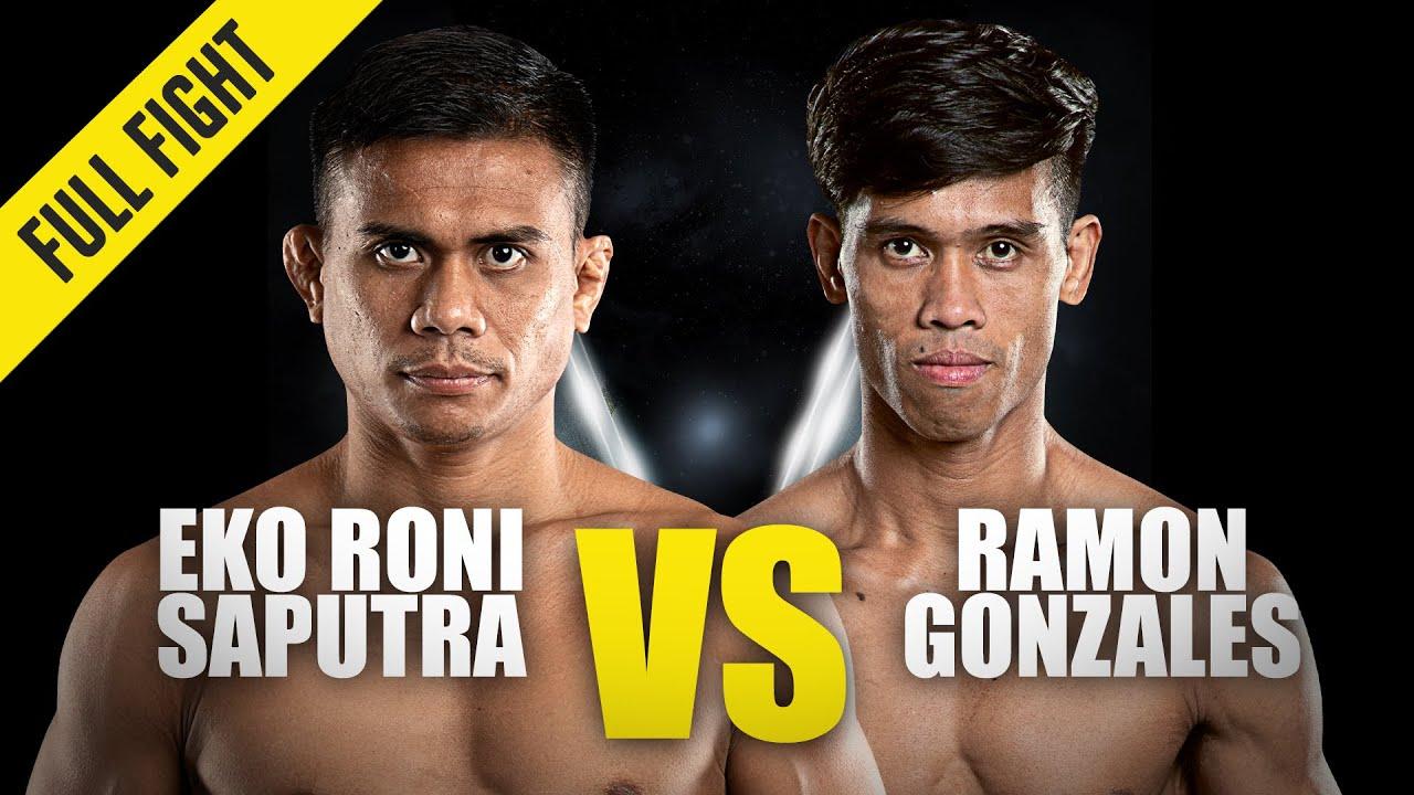 Eko Roni Saputra vs. Ramon Gonzales   ONE Championship Full Fight
