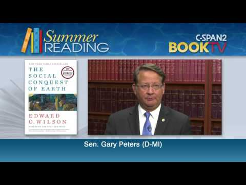 What is Sen. Gary Peters (D-MI) reading this summer?