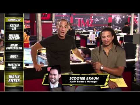 Scooter Braun Call into TMZ live