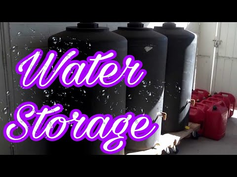 PREPPERS Water storage ideas for SHTF! Water purification