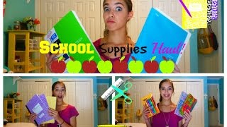School Suplies HAUL! 📚 2014! Thumbnail