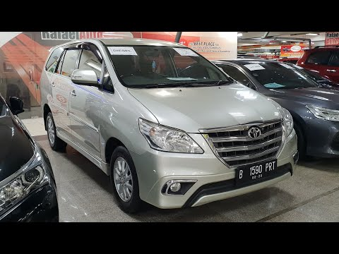 Toyota Grand New Kijang Innova 2.5 V A/T 2014 In Depth Review Indonesia