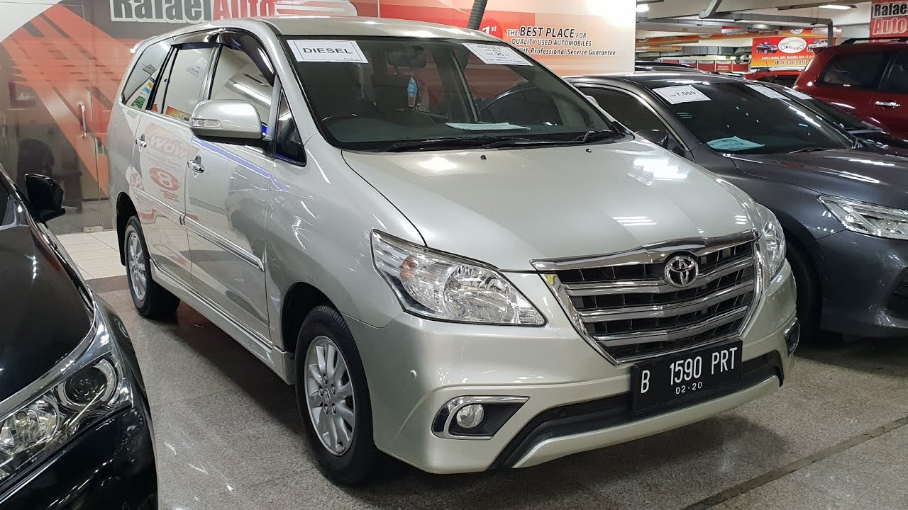 San Francisco Toyota Service >> Toyota Grand New Kijang Innova 2 5 V A T 2014 In Depth Review Indonesia