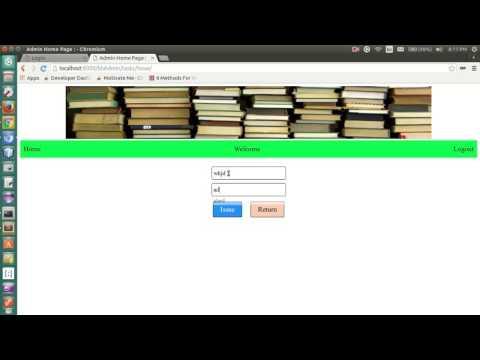 library management system django python