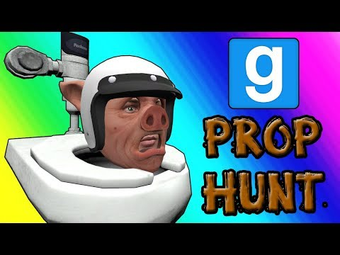 Gmod Prop Hunt Funny Moments - Panda Po-ops With Laughter (Garrys Mod)