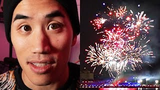 Making music with fireworks!