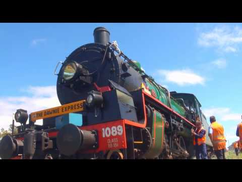 BB18 ¼ 1089 - The Dawnie Express - Charleville to Roma - 11/09/2016