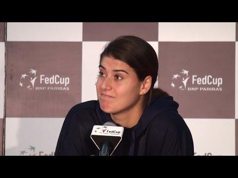Sorana Cirstea Speaks After Fed Cup Tie Is Suspended - Accuses Johanna Konta Of Bad Gamesmanship