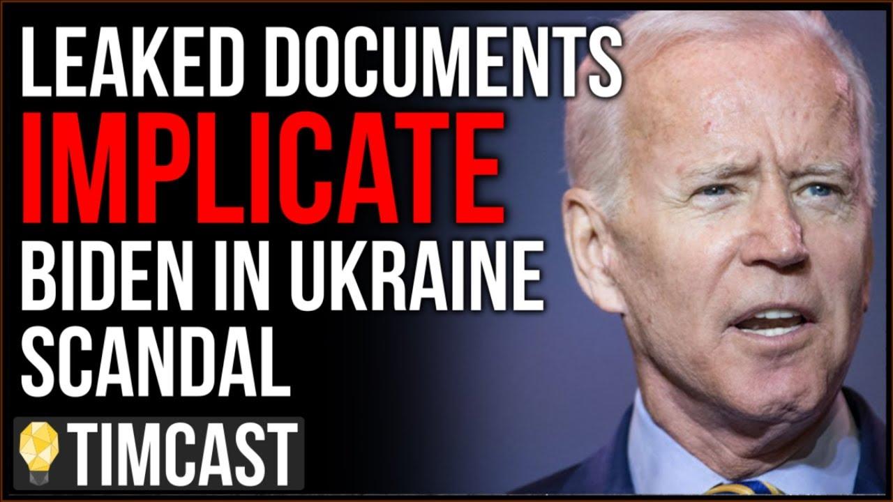 Tim Pool Leaked Documents Implicate Joe Biden In Ukraine Scandal, New Report Backs Trump's Clai