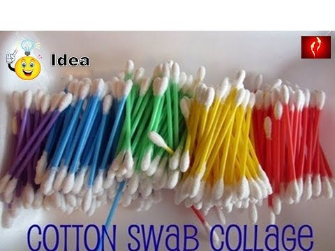 DIY home Decorating Idea | Cotton buds Reuse | Best out of Waste | Recycling Idea | Cotton Swab Use
