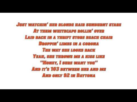 Jake Owen - Beachin' (Lyrics)