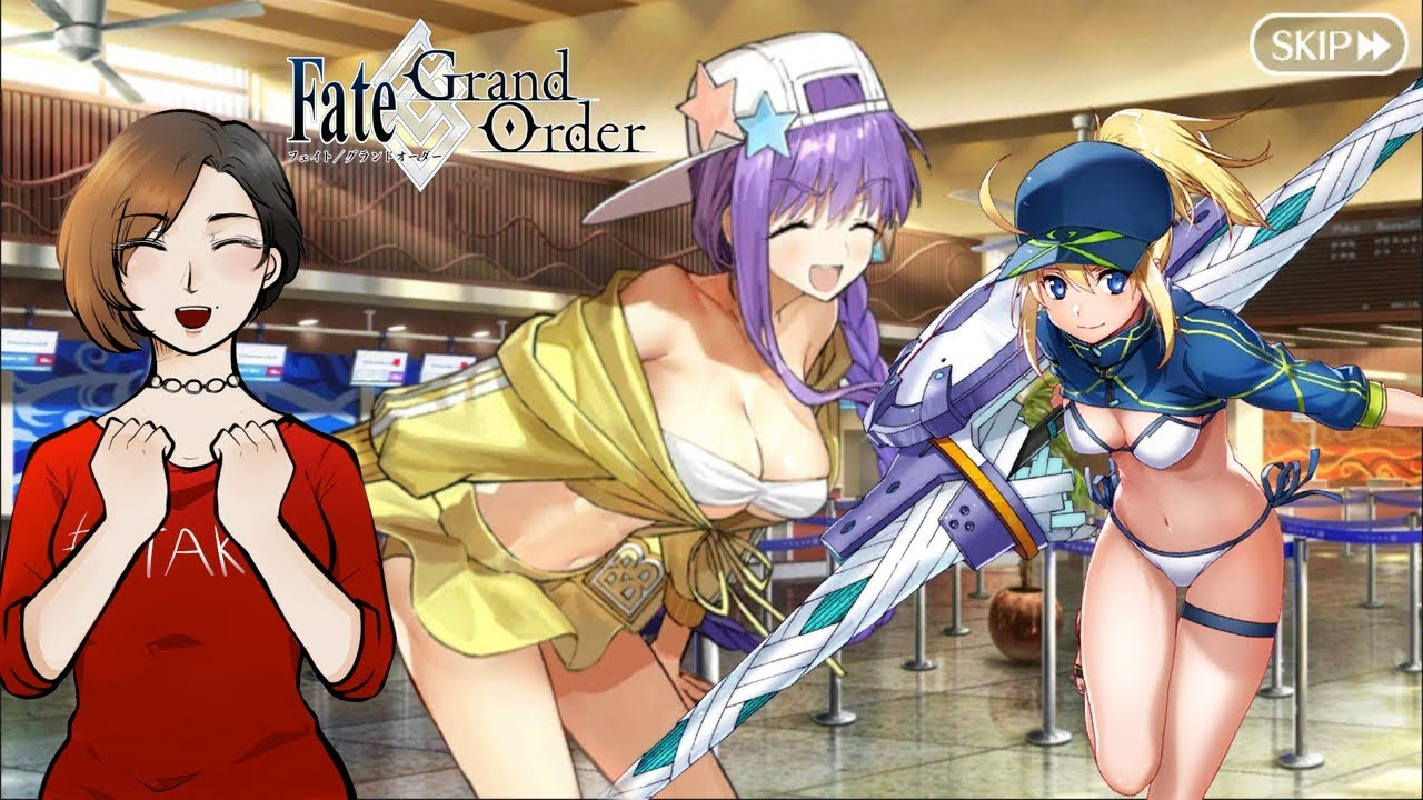 ROLLING FOR ALL SUMMER SERVANTS - Fate/Grand Order NA