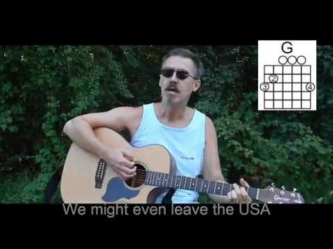 Going Up the Country Cover with lyrics/chords - Canned Heat - Easy - C78