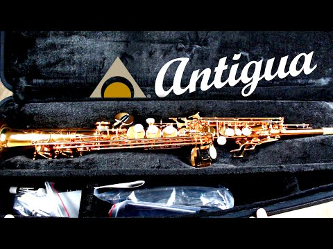 NEW Antigua Pro-One Soprano Saxophone - Unboxing & Review - BriansThing