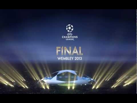 UEFA Champions League 2012-13 Wembley final intro (PES version)