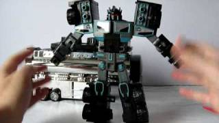 Transformers Car Robots - Black Convoy