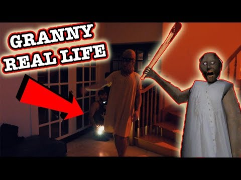 GRANNY HORROR GAME IN REAL LIFE! | CAN YOU ESCAPE GRANNY?!