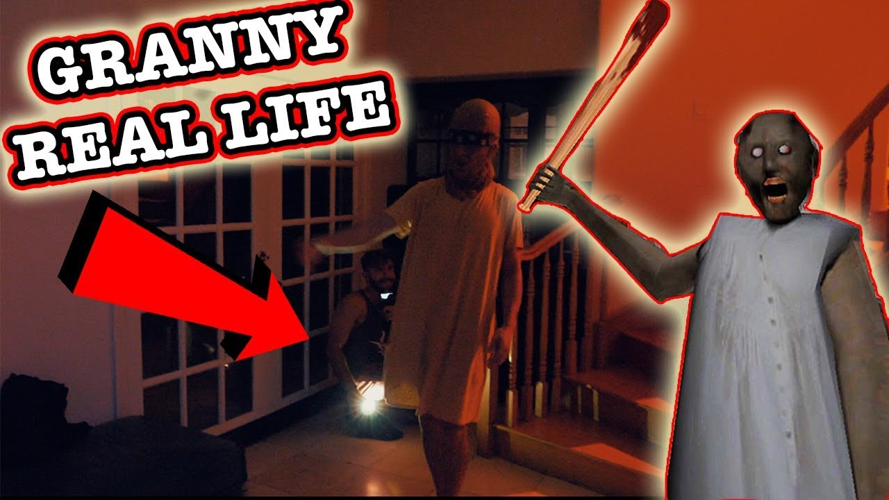 Granny Horror Game In Real Life Can You Escape Granny