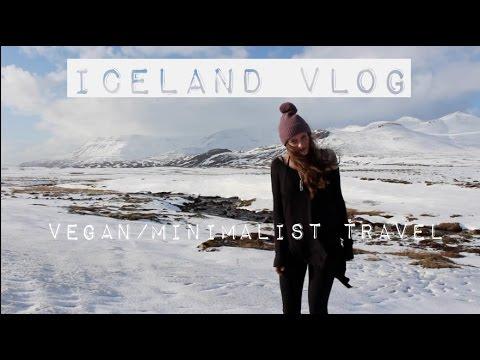 ICELAND VLOG minimalist vegan travel