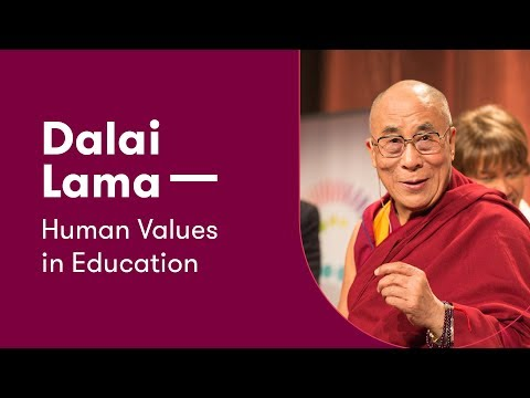 His Holiness the Dalai Lama at Vilnius University – Human Values in Education