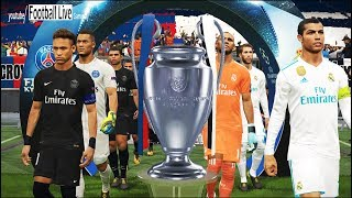 PES 2018 | Real Madrid vs PSG [Paris Saint Germain] | UEFA Champions League UCL Final | Gameplay PC