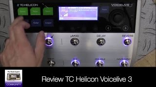 Review TC Helicon Voicelive 3