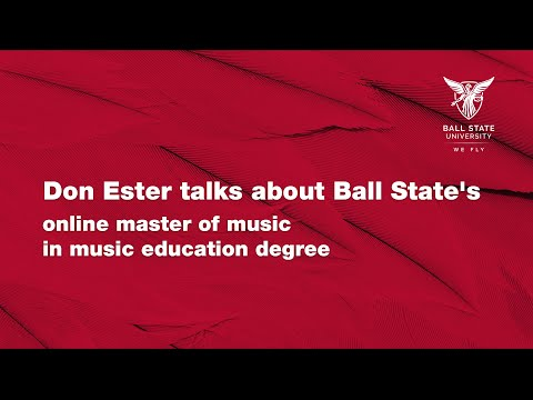 don-ester-talks-about-ball-state's-online-master-of-music-in-music-education-degree