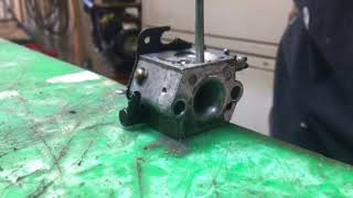 Why shops replace two cycle carburetors.