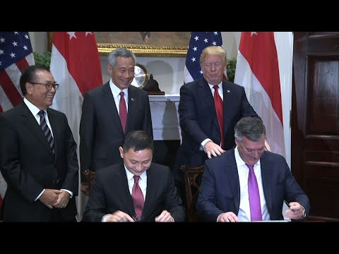 Trump Says Singapore Aircraft Deal Means US Jobs