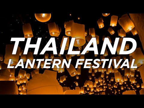 The Thailand Lantern Festival with Kids /// Loi Krathrong and Yi Peng Festival in Chiang Mai