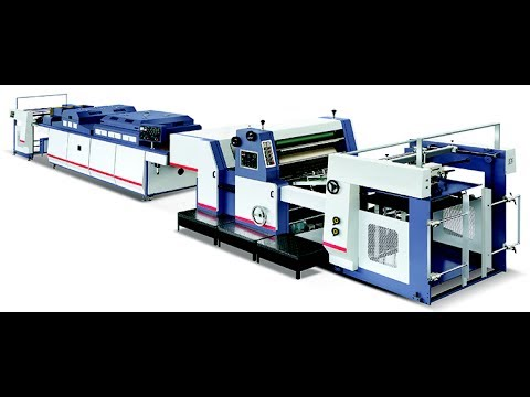 SGZJ-1200 Automatic Spot UV Varnishing Machine-Advertising video