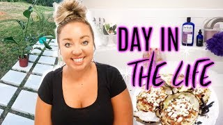 DAY IN THE LIFE | PROJECT PATIO & EASY RECIPE | JESSICA O'DONOHUE