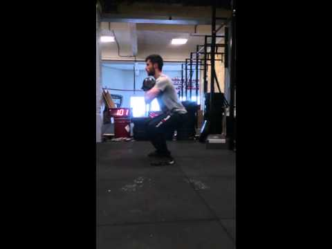 Thomas Lacombe CrossFit Agen Get up Contest WOD 3