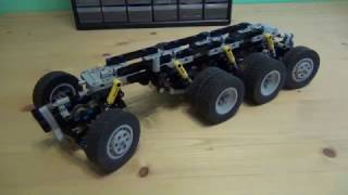 Lego Technic truck chassis 8x8