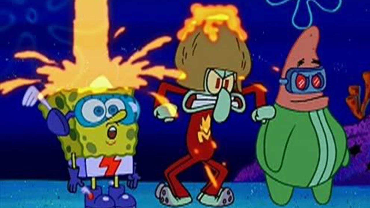 drop it captain magma krakatoa spongebob youtube