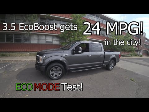 2018 Ford F150 Gets 24 MPG In The City!