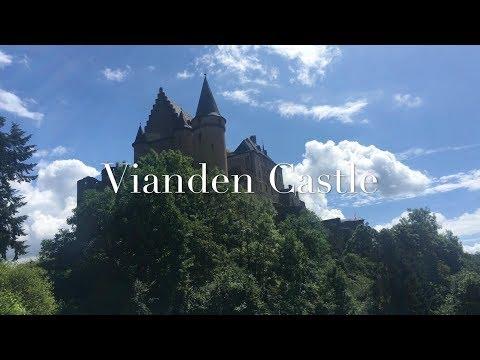 Vianden Castle, Luxembourg 🏰