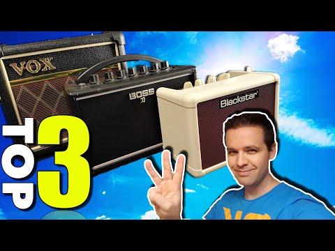 Top 3 Best Mini Guitar Amplifiers - Small Amps That Sound Big!