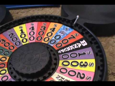 wheel of fortune game board how to make