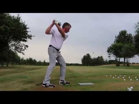 Paul Barrington Golf Trick Show
