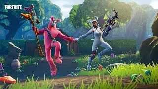 Fortnite NEW Easter SKINS - Bunny Brawler - Rabbit Raider - PACK START UP
