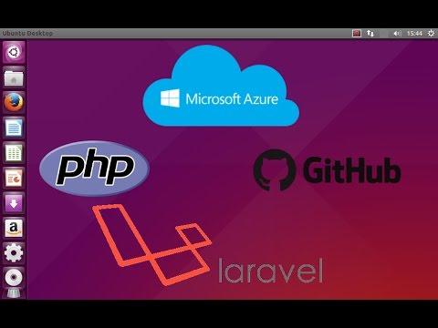 Microsoft Azure - Criando uma Wep App e publicando um App PHP framework Laravel #03
