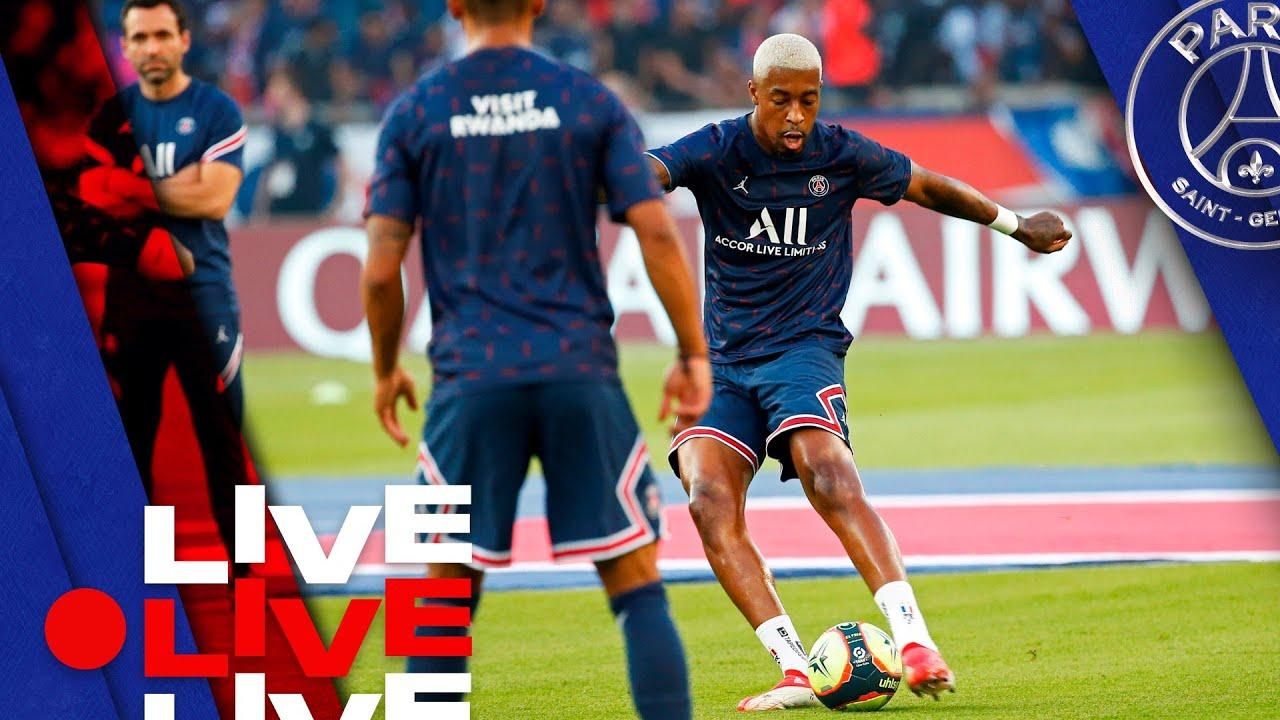 Download 📍 Avant match Paris Saint-Germain - Olympique Lyonnais en direct du Parc des Princes 🔴🔵