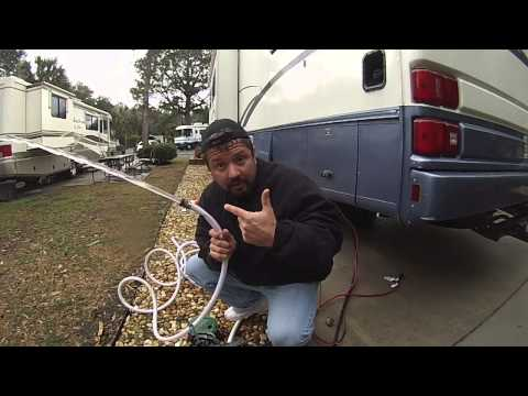 mobile home hook up