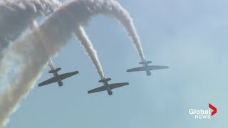 CNE Air Show in 7 minutes [Raw Video]