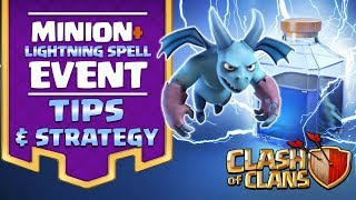 Electric Minion Tips and Strategy - Clash of Clans LIVE Event! TH11 CoC Minion Attacks